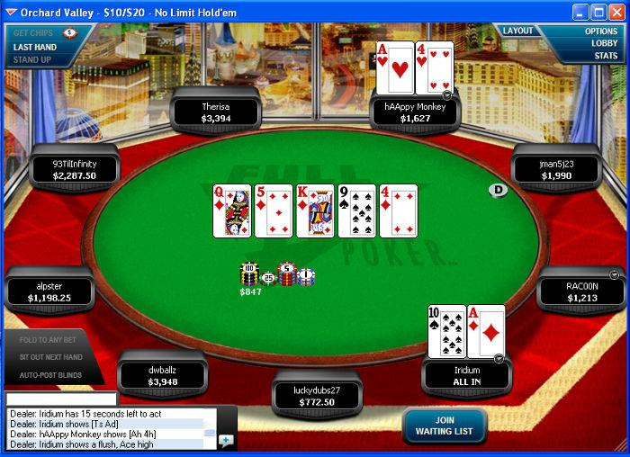 full tilt poker mobile real money