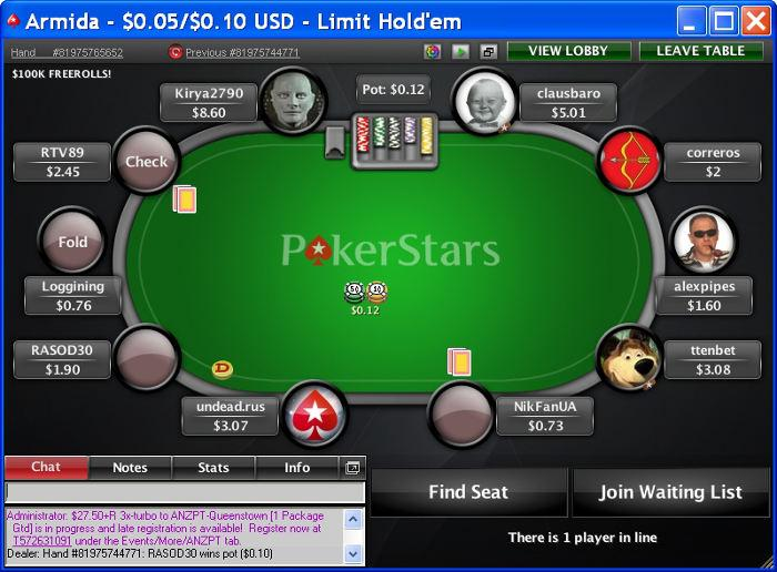 Poker Star Eu