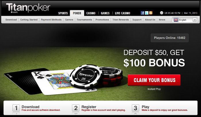 Review titan poker